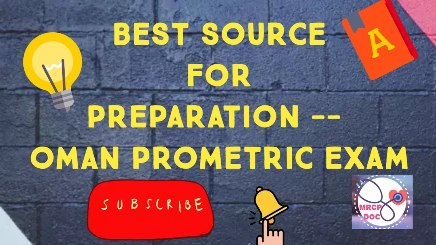 Best Source For Preparation Of OMAN Prometric Exam